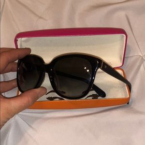 Kate spade black sunglasses